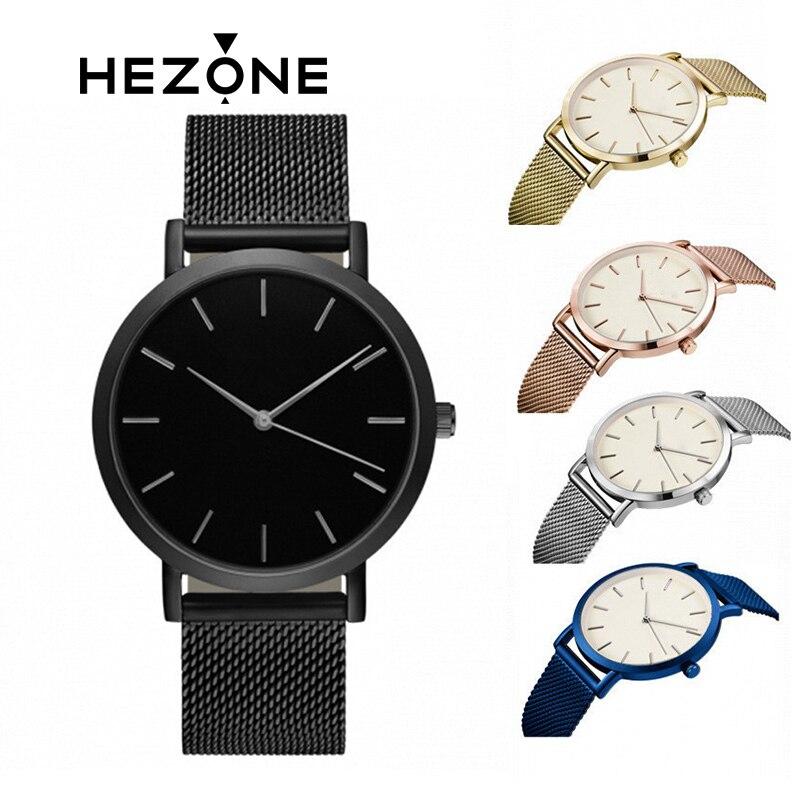 50067b4734d2 Minimalism Men Outdoor Tool Watch 2018 Luxury brand Belt neutral Bauhaus  design Ultra