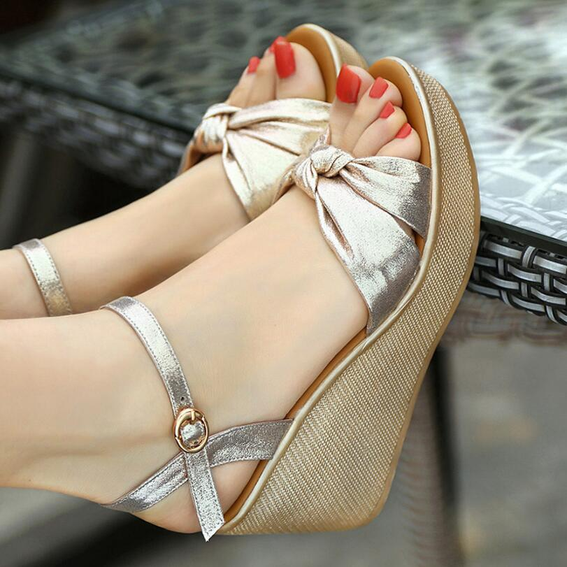 Señoras La Zapatos Verano Las amp; Negro 43 Plataforma Cuña Size41 oro Sandalia Tacón {d 42 Henlu} Size33 Mujer Alto De Más Pequeño Con Sandalias 8d6OZ8nYqw