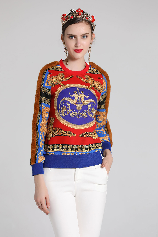 Vintage BOB Patchwork Sweatshirts 3
