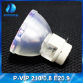 Osram bare projector lamp P-VIP 210 0.8 E20.9n SNLAMP for D926TX D925TX D833MX P1166 P1266 P1266i P1266 P- P1270 XD250U...