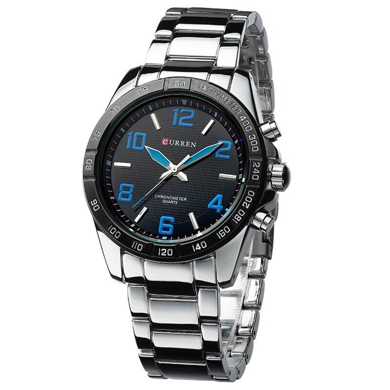 Business 2017 New Fashion Curren Brand Casual Design Male Clock Leisure Luxury Wrist Watch Gift Big Size Watches