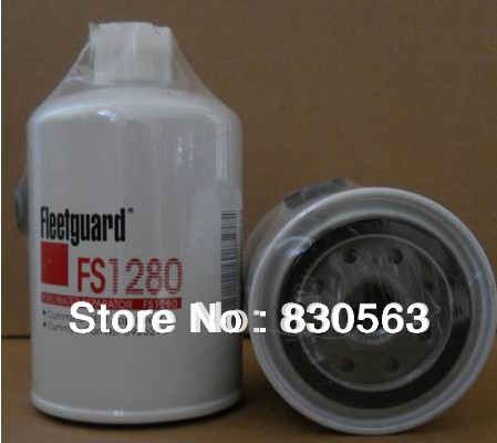 Free Shipping FS1280 fuel water separator fuel filter oil water fuel