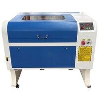 משלוח חינם מיני לייזר חריטת מכונת CO2 לייזר מכונת חיתוך עם עזר רוטרי מכשיר חרט חותך עבור Woodworki|כרסמים לעץ|   -