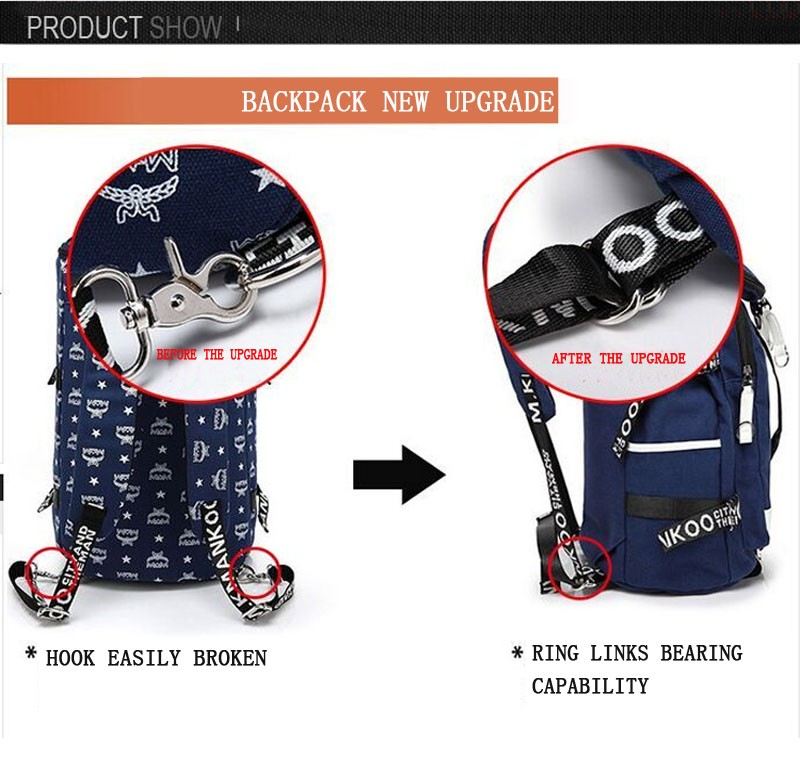 Men's Multi-Functional Backpack Vintage Shoulder Bag High Quality Canvas Male Bagpack Rucksack Travel Luggage for Weekend 41