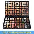 Frete grátis 120 cores da paleta da sombra Nude quente sombra 04 maquiagem 120 W