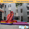 Inflatable Biggors Inflatable Pool Combo With Slide Inflatable Slide For Adults