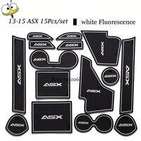 For Mitsubishi ASX 2013 15 Anti Slip Rubber Mats Auto Motive Interior Carpet Gate Slot Car