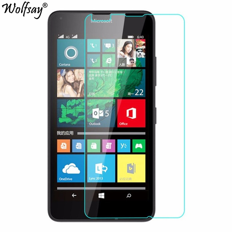 2pcs For Glass Microsoft Lumia 640 Tempered Glass For Microsoft Lumia 640 Screen Protector For Lumia 640 Protective Film Wolfsay