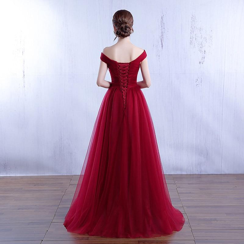 Bridesmaid Dresses It's Wedding Royal-Blue Elegant Long Plus-Size Robe DSYA003 Yiiya