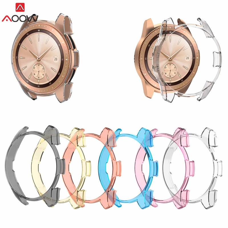 New High Quality PC Smart Watch Protective Case Cover for Samsung Galaxy Gear S3 Watch 46mm 42mm Frame Smartwatch Accessories