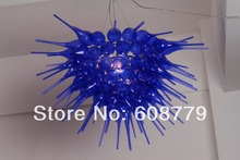 Hot Sale Blue Murano Chandelier Crystal Ceiling For