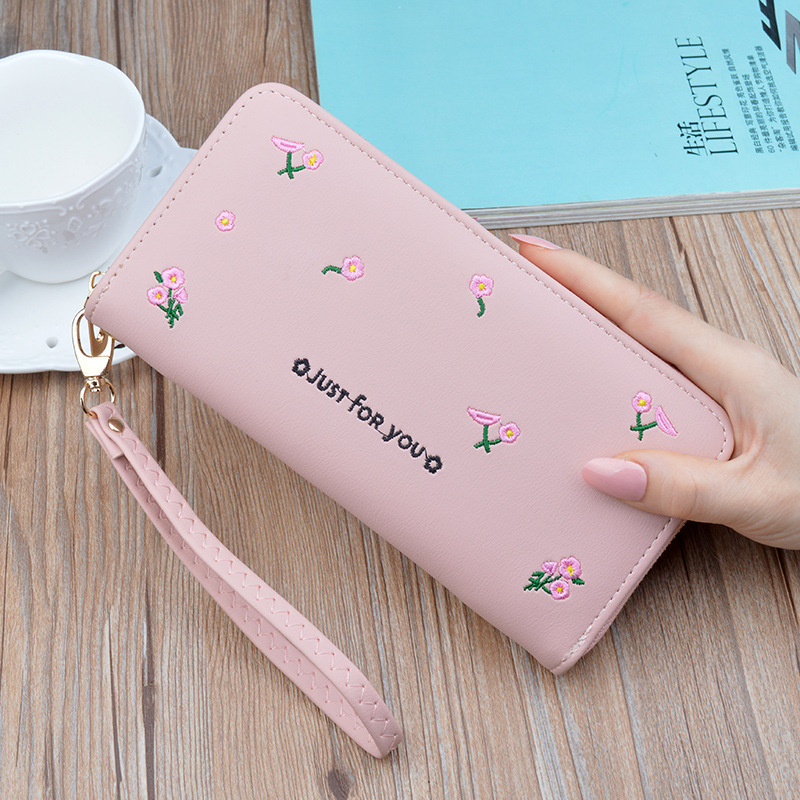 Pink small fragrance wallet