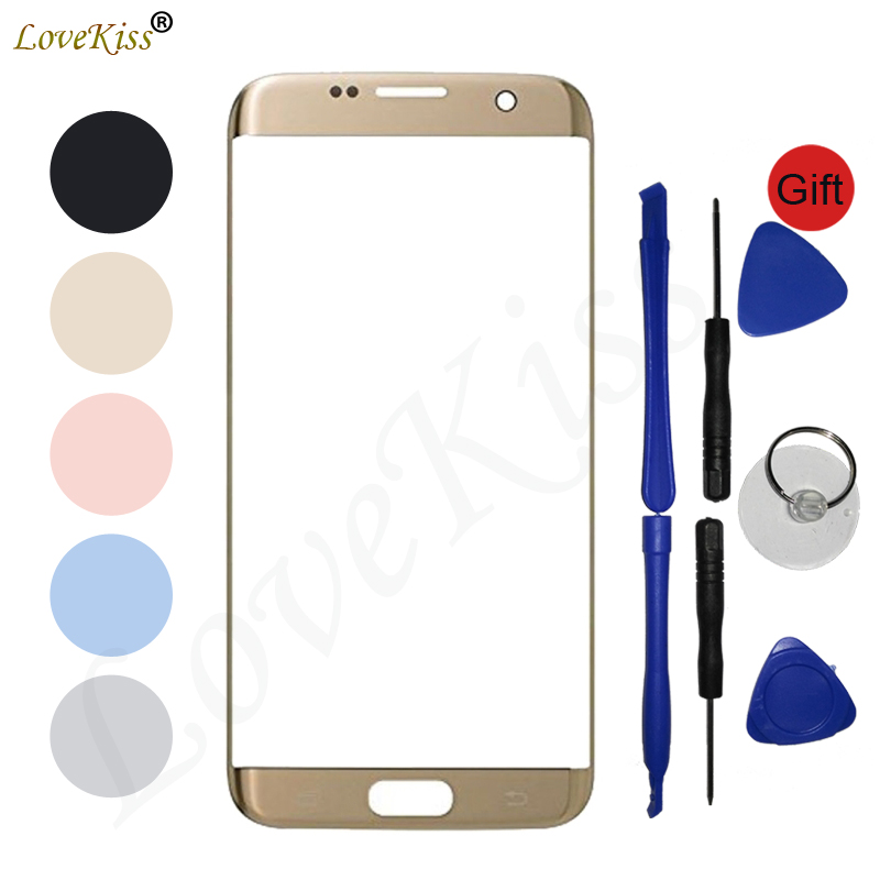 S7Edge Touchscreen Panel For Samsung S7 Edge G935 G925F G935FD Touch Screen Sensor LCD Display Digitizer Glass Cover Replacement
