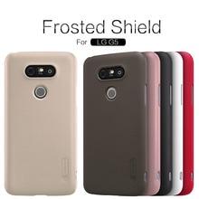LG G5 чехол Nillkin Super Frosted Shield задняя крышка для LG G5/LG H830 (5.3 дюйма) высокое качество чехол + Screen Protector