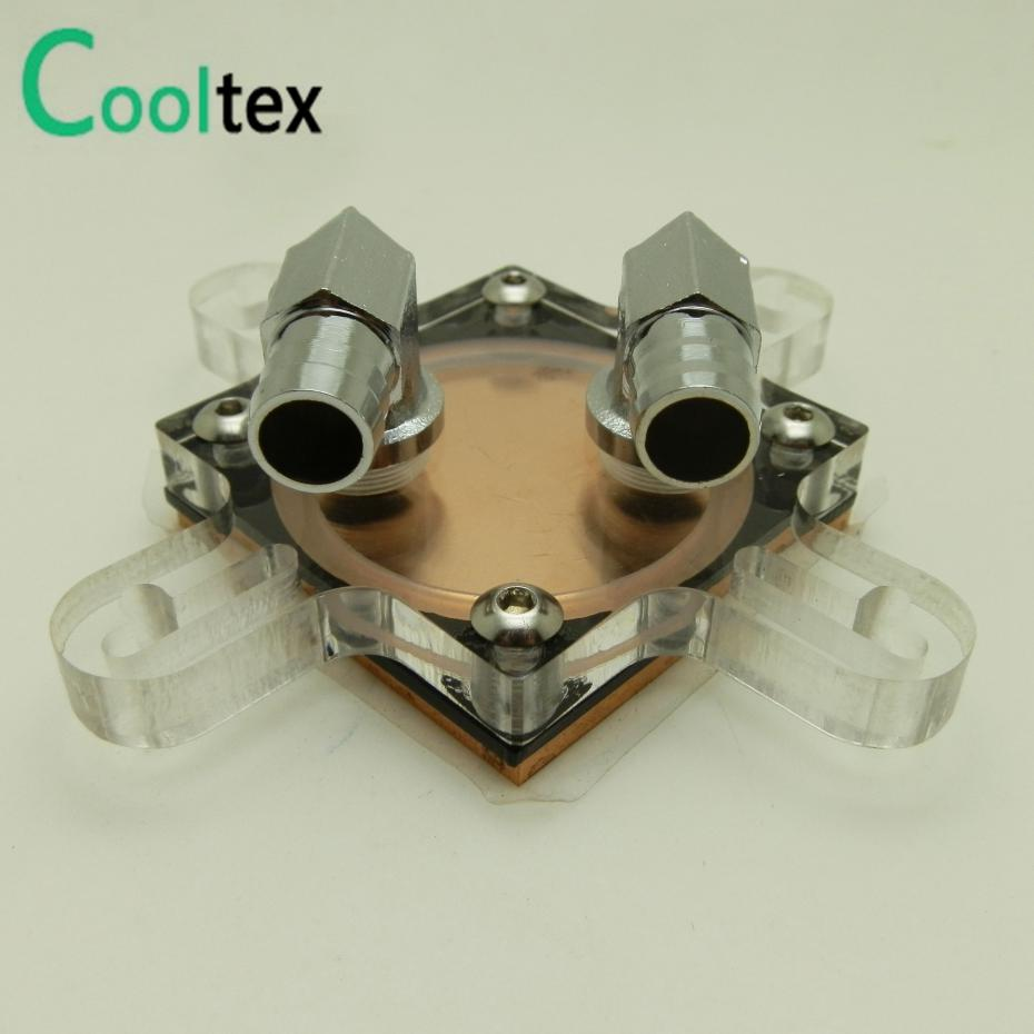2016 new GPU Water Block Video Graphics Card Water Cooling Block Radiator cooler Hole Spacing 41mm-61mm With Mounting Screws image