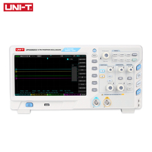 цена на Digital Oscilloscope UNI-T UTD2102CL Portable 100MHz 2 Channels 500Ms/S USB Oscilloscopes Ociloscopio Automotivo Portatil