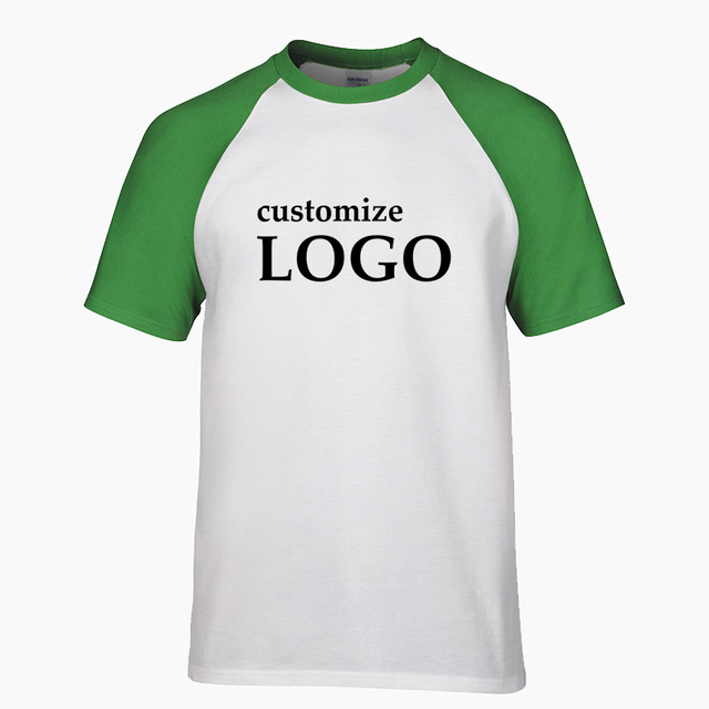 Cool New brand Customized T-shirt Men short sleeves Men's Breathable T shirt Print Your Own Design cozy DIY T-shirts size S-2XL