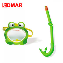 DMAR Frog Separate Diving Anti-fog Folding swimming child Snorkeling Mask Underwater Scuba Glasses Apparatus Training