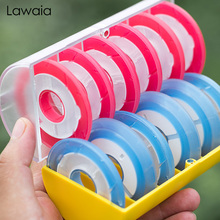 Lawaia 12-axis Silicone Main Spool Fishing Coil Protection Line Multi-function Rainbow Accessories Tools