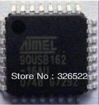 Бесплатная Доставка 2 ШТ. 100% НОВЫЙ AT90USB162 90USB162 MCU AVR USB 16 К FLASH 32-TQFP (AT90USB162-16AU)