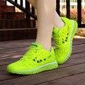 2016 Новая Мода Мягкая Повседневная Обувь Женщины нескользящие Дышащие Спортивная Обувь Дамы Плоские Туфли Женщины Zapatillas Mujer
