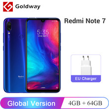 "Global Version Xiaomi Redmi Note 7 4GB RAM 64GB ROM Mobile Phone Snapdragon 660 Octa Core 6.3"" 48MP Dual Camera 4000mAh FCC CE(Hong Kong,China)"