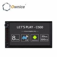 Ownice C500 Android 6.0 Car GPS Phổ Stereo Đài Phát Thanh 2 Din Player 7