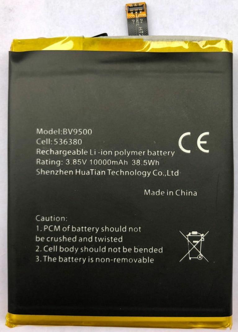 100% Original Backup Blackview BV9500 10000mAh Battery For Blackview BV9500 Smart Mobile Phone + +Tracking Number+ In Stock
