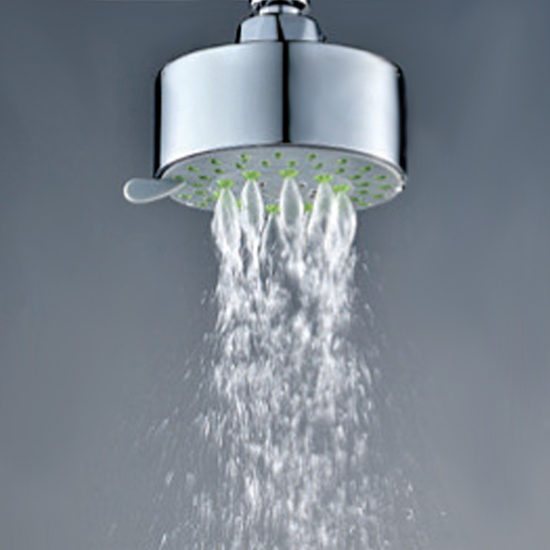 New Water Saving Bathroom Multi-Function ABS Hand Held Shower Head 6L