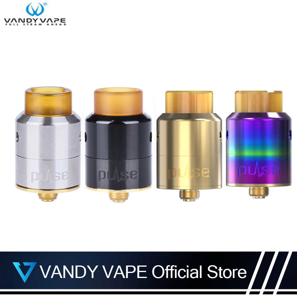 Original Vandy vape Pulse 24 BF-RDA Atomizer 2ML Rebuildable Dripping Atomizer For E Cigarette Vape VS Vandy vape Pulse 22