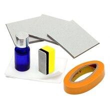 Стайлинга автомобилей фар восстановление фары отбеливатель комплект для головной лампы автомобиля Оптические стёкла DIY фары полировки УФ-защитный жидкий