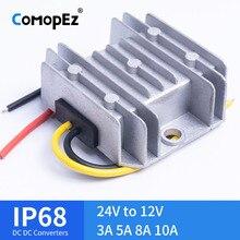 Преобразователь напряжения постоянного тока 24V в 12V 3A 5A 8A 10A Шаг вниз Напряжение редуктор CE по ограничению на использование опасных материалов в производстве Сертифицированный