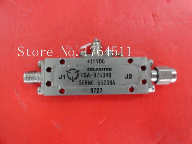 [BELLA] CELERITEK CSA-970348 15V SMA Supply Amplifier