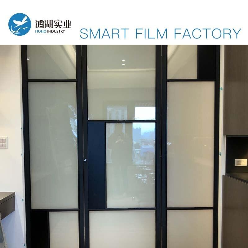 Smart Fenêtre Film PDLC-Commutable Électronique