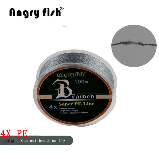 Angryfish High Quality Braided Fishing Line 3