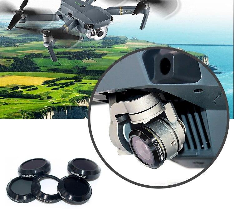 Lens Filter Bundle UV CPL ND4 ND8 ND16 ND32 Filter For DJI Mavic PRO Platinum font