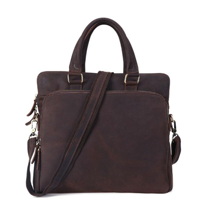 luxury Genuine Leather office handBag Business Handbags Cowhide Men Crossbody Bags Men's Travel Bags Laptop Briefcases Tote bags genuine leather handbag business handbags cowhide men crossbody bags men s travel shoulder bags tote laptop briefcases bag