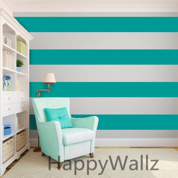 Charmant Stripe Wall Sticker Stripe Lines Wall Decals DIY Modern Wall Decors Easy  Wall Stickers Kids Room Wallpaper Baby Nursery P61 In Wall Stickers From  Home ...