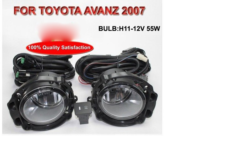 2007 Avanza fog light,Free ship!halogen,Allion Modellista headlight,camry,Hiace,tundra,sienna,yaris;Allion day lamp toyota allion premio модели 2wd