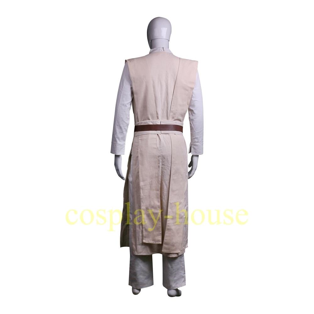 Cosplay Star Wars The Last Jedi Luke Skywalker Costume Star Wars Costume Jedi Costume Halloween Full Set Cos (8)