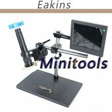 Discount! High quality Industrial 16MP Full HD 1080P 60FPS HDMI USB +300X/180X C-Mount Digital Microscope Video Camera+ 8″ LCD Monitor