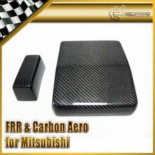 Продвижение стайлинга автомобилей для Mitsubishi Evolution EVO 10 крышка коробки предохранителя из углеродного волокна