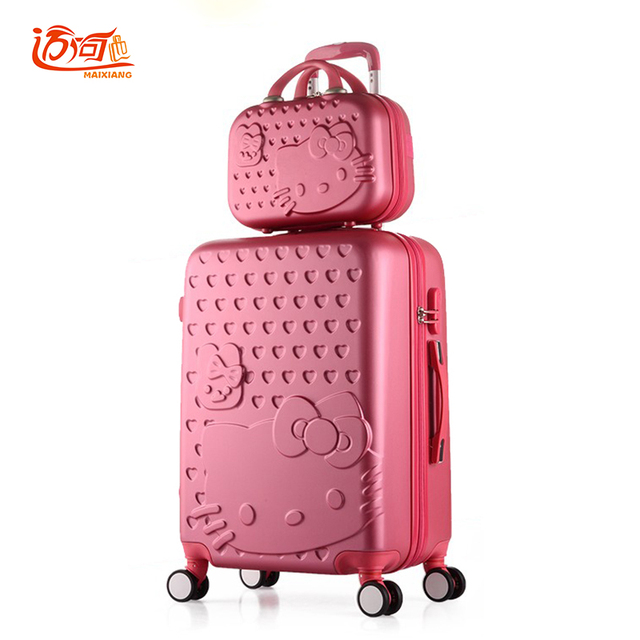afb978ec2 Hello Kitty travel luggage sets 20