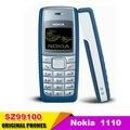 Оригинальный Разблокирована Nokia 1110 Сотовый телефон Классический GSM Сотовый телефон поддержка нескольких языков Восстановленное Бесплатная доставка