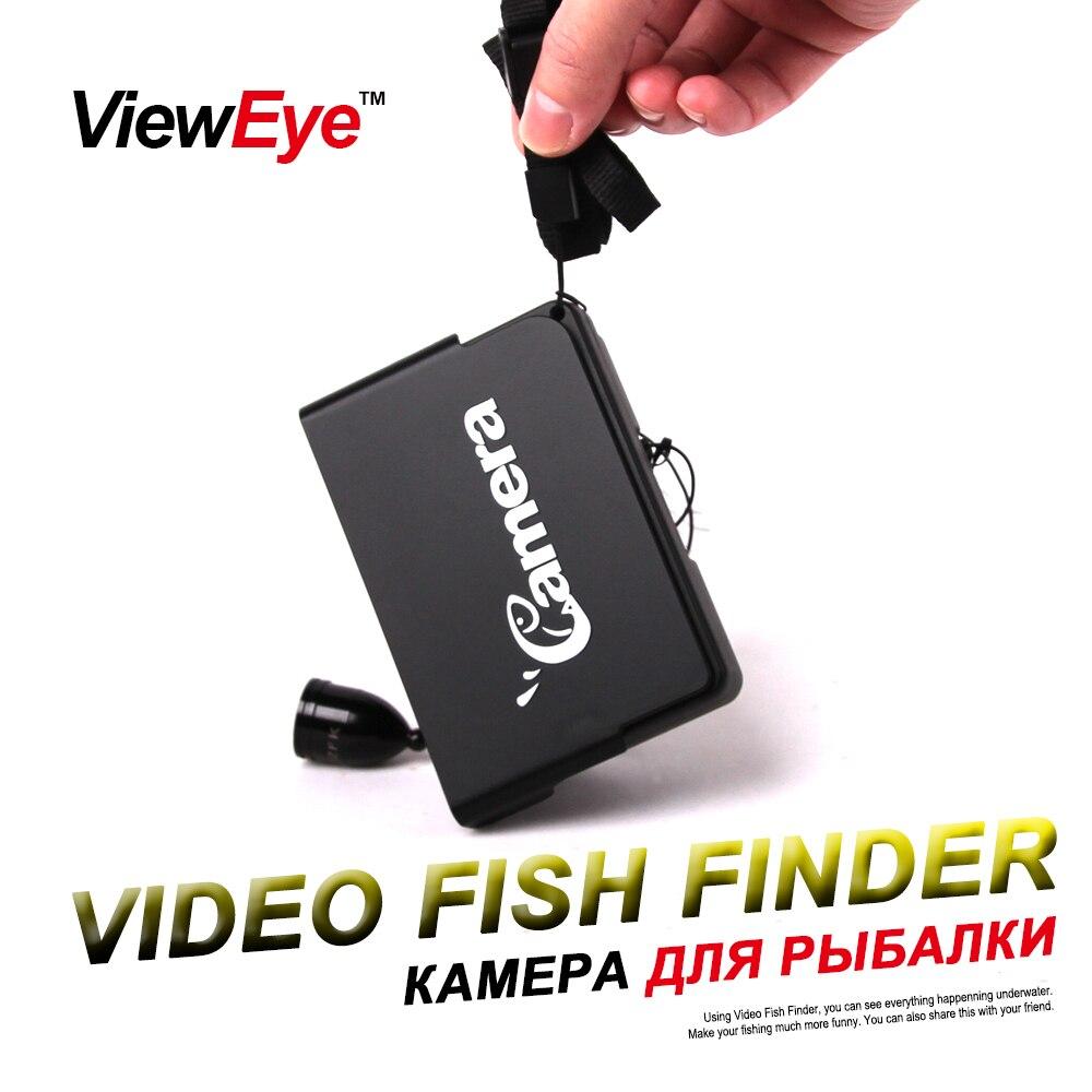 ViewEye Original HD 1000TVL 3 5 Professional Underwater Fishing Camera Fish Finder Video Recorder 2pcs IR