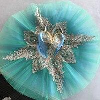 Adult Children Professional Ballet Tutu Performance Dance Costume Women Kids Sleeping Beauty Tutu Skirt Girls Ballet Clothes