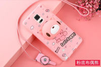 Phone Cases For Samsung Galaxy Note 4 3D Cute Cartoon Ice Cream Soft TPU Silicone Back