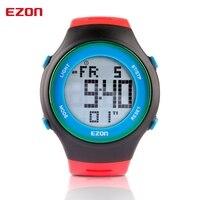 Free Shipping EZON L008B11 Outdoor Running Luminous Watch Ultrathin Watch Waterproof Sports Watches Relogios Feminino