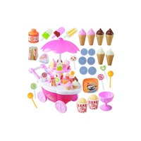 Baby Toys Pretend Play Ice cream mini car Birthday Cake made Food Toys Early Educational Baby Play Games Gifts
