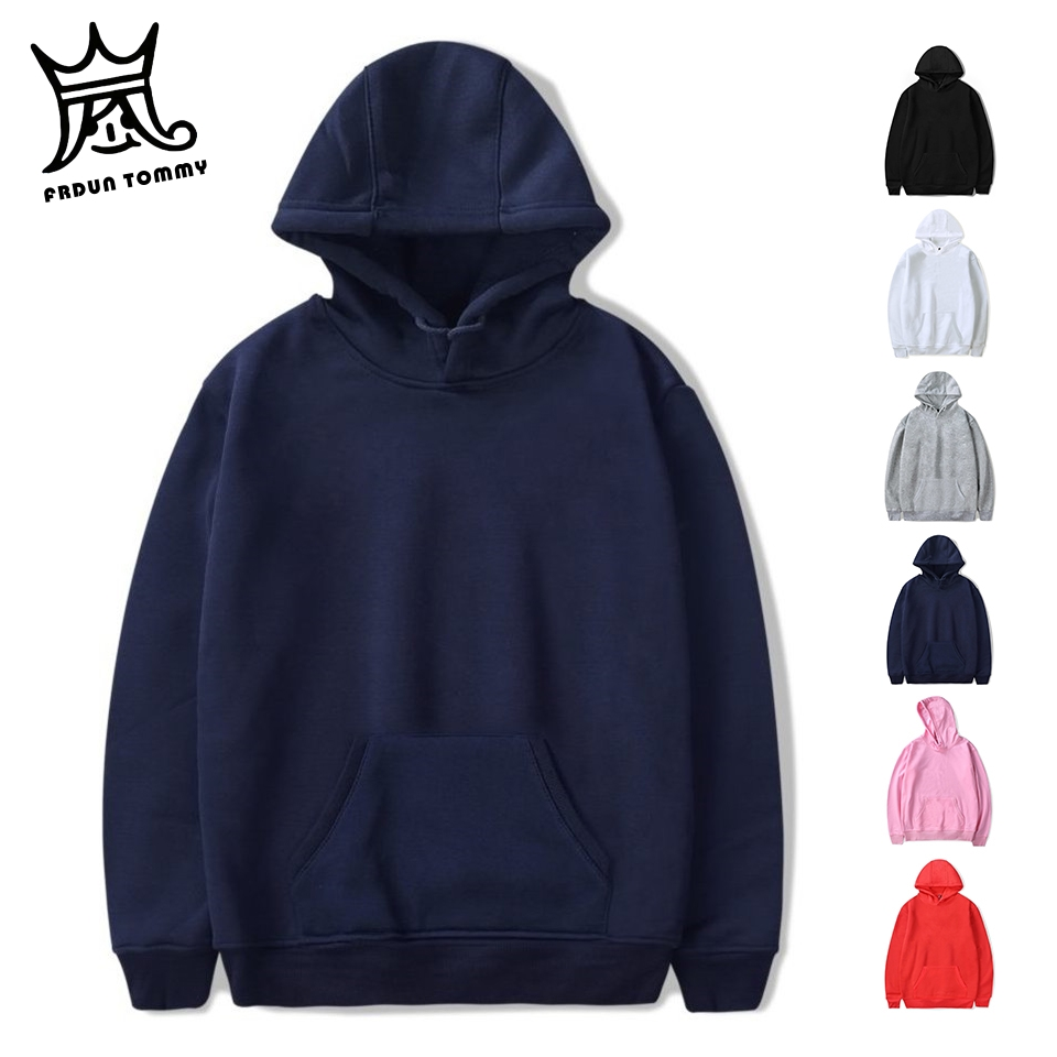Fashion Brand Men's Hoodies 2019 Spring Autumn Male Casual Hoodies Sweatshirts Men's Solid Color Hoodies Sweatshirt Tops